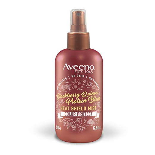 Aveeno Nourishing Blackberry Quinoa Protein Blend Heat Shield Mist 6.8 fl. oz