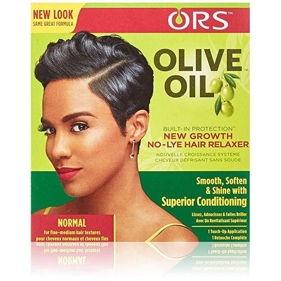 Organic Root Stimulator Olive Oil New Growth Kit Normal Strength