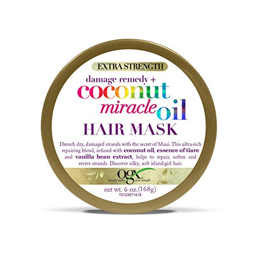Organix Coconut Miracle Mask Extra 6 Oz