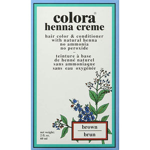 Colora Henna Creme, Brown, 2 Ounce