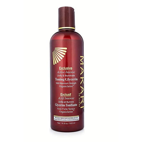 Makari Exclusive Active Intense Lightening Toning BODY GLYCERIN 16.8oz