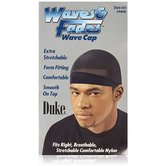 Duke Waves/Fades Wave Cap 2Pk