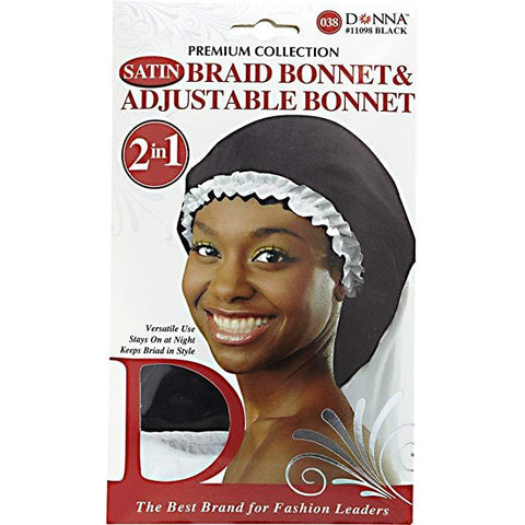 Donna Collection Adjustable Braid Bonnet