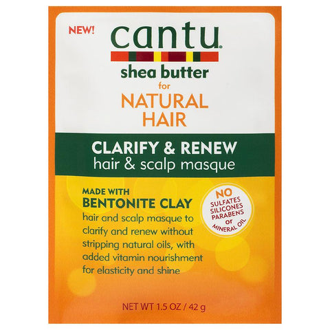 Cantu Shea Butter Natural Hair Clarify & Renew Hair & Scalp Masque
