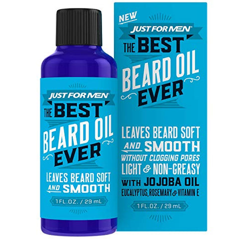 Just for Men The Best Beard Oil Ever, Light & Non-greasy, 1 Fl Oz