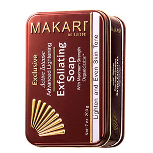 Makari Exclusive Skin Lightening & Exfoliating Bar Soap 7Oz