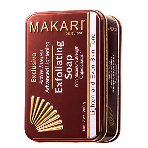 Makari Exclusive Skin Lightening & Exfoliating Bar Soap 7oz.