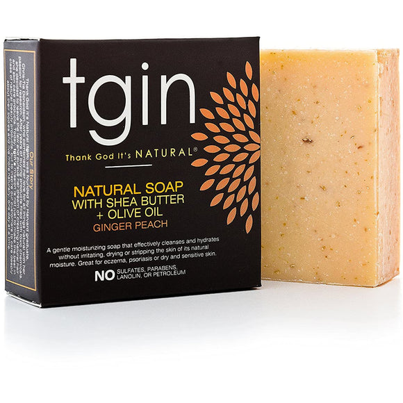 Tgin Olive Oil Soap - Ginger Peach 4Oz