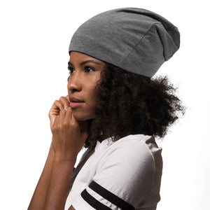 Adama Satin Lined Beanie Gray