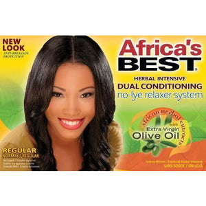 Africa's Best Herbal Intensive No-Lye Relaxer Kit Regular