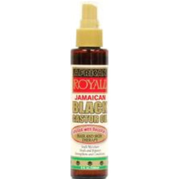 African Royale Jamaican Black Castor Oil 5 Oz