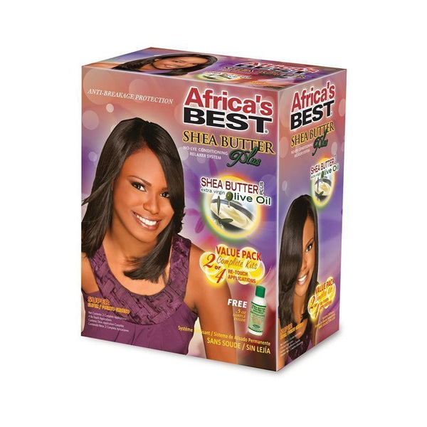 Africa's Best Shea Butter No-lye Conditioning Plus Relaxer System