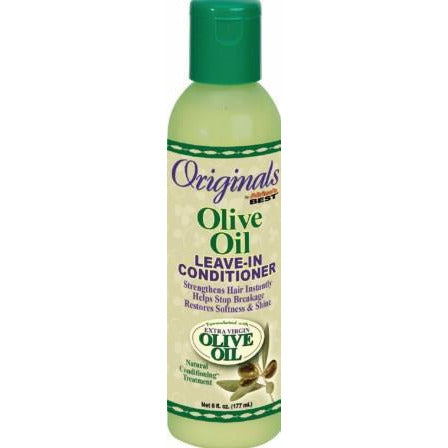 Africas Best Organics Extra Virgin Olive Oil Leave-In Conditioner - 6 Oz