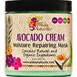 Alikay Naturals Avocado Cream Moisture Repairing Hair Mask, 8 Ounce