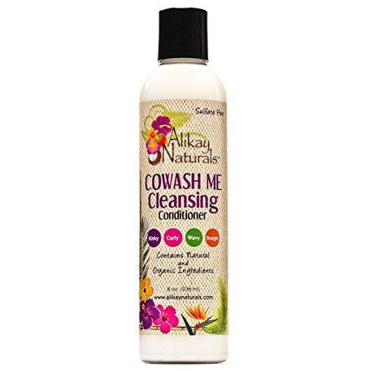 Alikay Naturals Cowash Me Cleansing Conditioner, 8 Ounce