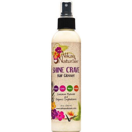 Alikay Naturals Shine Crave Hair Glosser, 8 Ounce