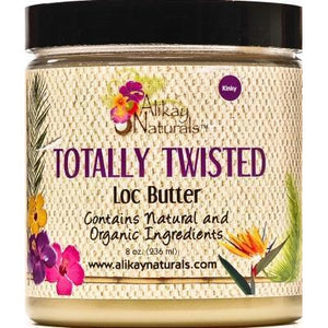 Alikay Naturals Totally Twisted Loc Butter, 8 Ounce