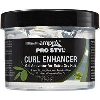 Ampro Curl Enhancer Gel Activator For Extra Dry Hair 10 Oz