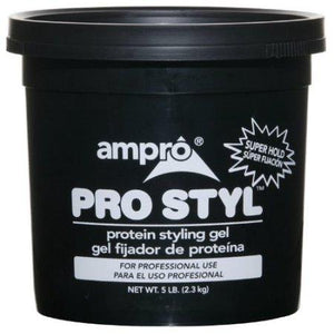 Ampro Pro Styl Super Hold Protein Styling Gel 5 Lb