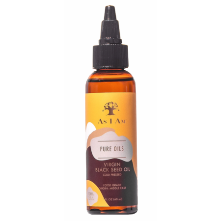 As I Am Pure Oils Virgin Black Seed Oil 2 oz