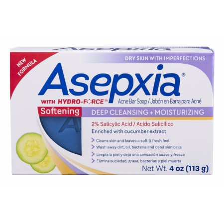 Asepxia Cleansing Bar Moist 4Oz
