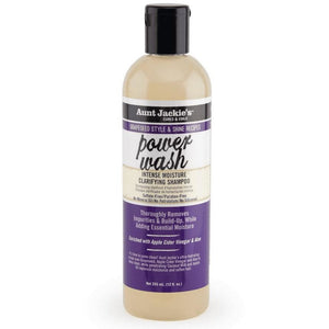 Aunt Jackie's Grapeseed Collection Power Wash Intense Moisture Clarifying Shampoo 3oz