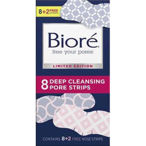 Biore Deep Cleansing Pore Strips, 8 Count