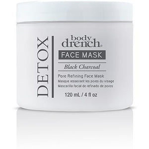 Body Drench Black Charcoal Pore Refining Face Mask, 4 Oz