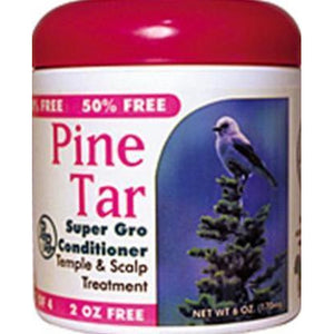 Bronner Brothers Pine Tar Super Gro Hair And Scalp Bonus 6 Oz