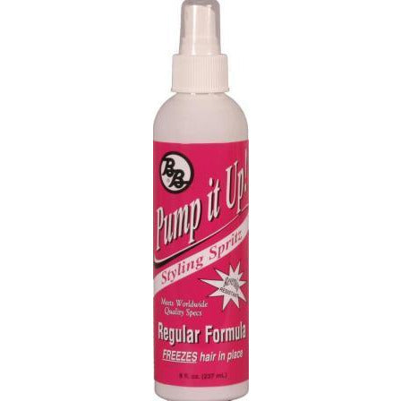 Bronner Brothers Pump It Up Spritz Regular Hold, 8 Oz