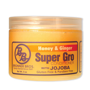 Bronner Brothers Super Gro Conditioner 6 Oz (Honey & Ginger With Jojoba)