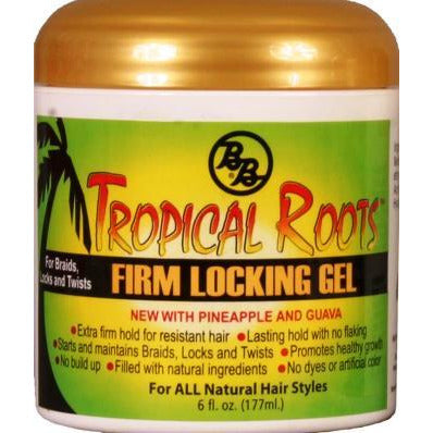 Bronner Brothers Tropical Roots Firm Lock Gel 6 Oz