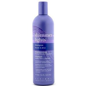 Clairol Professional Shimmer Lights Shampoo For Blonde & Silver Hair - 16 Oz