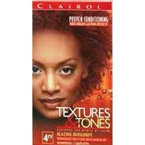 Clairol Professional Textures And Tones Permanent Hair Color, 4RV Blazing Burgundy