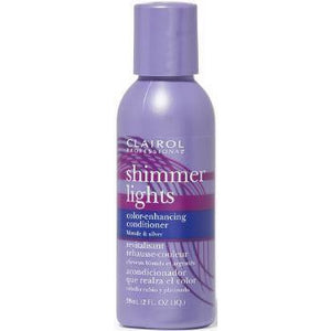 Clairol Shimmer Lights Purple Conditioner For Blonde & Silver Hair - 2 Oz