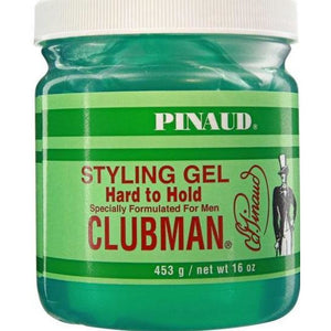 Clubman Pinaud Styling Gel Hard To Hold, 16 Oz