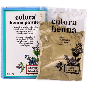 Colora Henna Powder, Buttercup Blonde - 2 Oz
