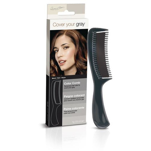 Cover Your Gray Color Comb - Black