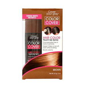 Cover Your Gray Color Cover Spray Brown - Root Concealer And Hair Color Touch Up 2 Oz