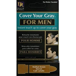Cover Your Gray Men's Touch-Up Stick - Medium Brown