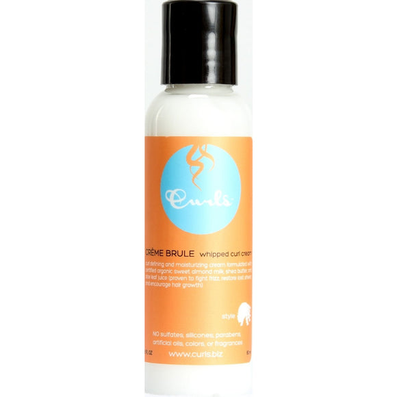Curls Creme Brule Whipped Curl Cream 2 Oz