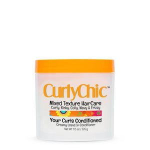 Curlychic Your Curls Conditioned Creamy Conditioner, 11.5 Oz