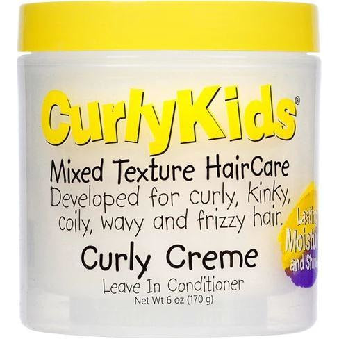 Curlykids Curly Creme Conditioner, 6 Oz