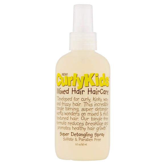 Curlykids Super Detangle Spray, 6 Oz