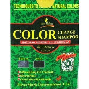Deity America Color Change Shampoo Black, 5.28 Oz