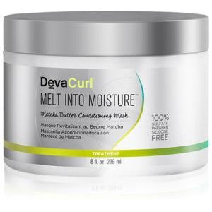 Devacurl Melt into Moisture Matcha Butter Conditioning Mask 8oz