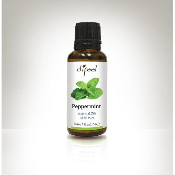 Difeel Essential Oils 100% Pure Peppermint 1 Oz