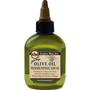 Difeel Premium Natural Hair Oil - Olive Oil 2.5 Oz