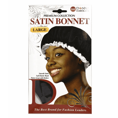 Donna Collection Premium Satin Bonnet Large