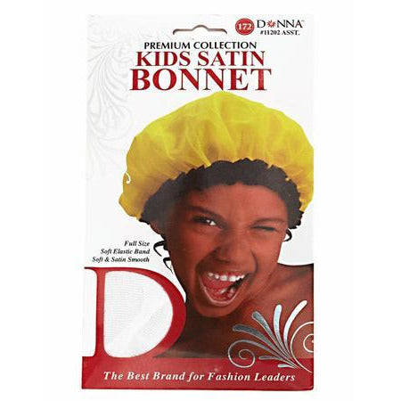Donna Kids Satin Bonnet Assorted Colors